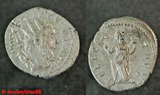 Romaine !  Antoninien de billon de Postumus revers Felicitas Aug