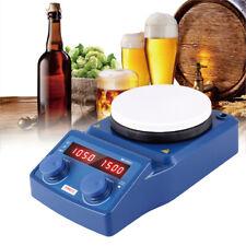 ?135mm Magnetrührer Heizung Stirring Magnetische mit Heizplatte Thermostat Labor