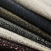 Retro A4 PVC PU Leather Fabric Synthetic Leather for Handbag Garments DIY Sewing