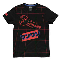NEW! Nintendo Super Mario Bros. Neon Japanese Chain Chomp Grid All-Over Print L