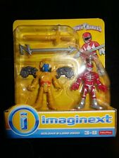 New NIP FP Imaginext Power Rangers GOLDAR & LORD ZEDD Figures Fisher-Price