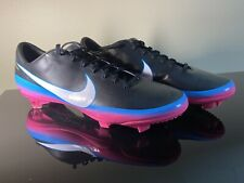 Nike Mercurial Vapor VIII CR7 FG Blk/Pnk Love to Win Hate to Lose Size 8.5 US