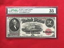 FR-60  1917 Series $2 US Legal Tender Note *PMG 35  Choice Very Fine*