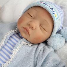 22''Realistic silicone Baby Doll Ragazzi Reborn Realizzato neonato Lifelike gift