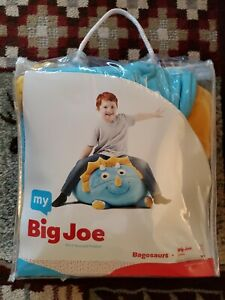 My Big Joe Baby Blue Triceratops Bagosaurs Beanbag