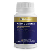 BioCeuticals Acetyl-L-Carnitine 90 Capsules Energy Metabolism and Brain Health
