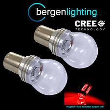 382 1156 BA15S 245 207 P21W Xénon rouge 3 CREE LED arrière Feu anti brouillard
