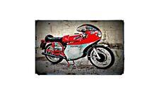 1973 Mv Agusta 350 Sport Bike Motorcycle A4 Retro Metal Sign Aluminium