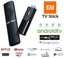 Smart Tv Box Con Android 9.0 MI Tv Stik Quad-core Wifi Telecomando Vocale Google