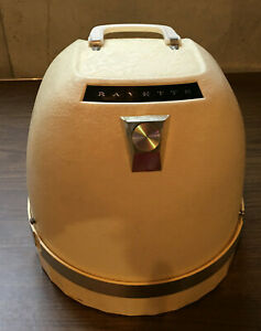 Rayette Vintage Portable Hard Bonnet Hood Dome Hair Dryer Salon Model 350