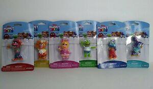 Lot of (6)Just Play Disney Junior Muppet Babies Mini Figurines Complete Set