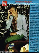 Coupure de Presse Clipping 1980 (1 page) Jacques Chazot