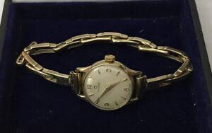 Vintage 9ct 9k Gold OMEGA Ladies Watch Expandable Small Size Bracelet