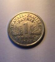 1 Franc francisque Bazor 1944C légère  N1