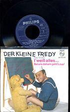 Der kleine Fredy -- Fredy Heindler - Single -- I weiß alles - Philips -