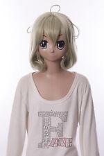W-542 Sasami-san@Ganbaranai Sasami Tsukuyomi blond 34cm kurz Cosplay Perücke Wig