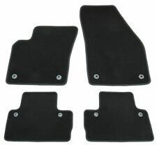 Alfombras tapices para volvo s40 v50 c30 gamuza premium calidad alfombras coche negro