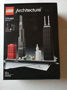 LEGO Architecture 21033 -Chicago-Illinois-USA-neuf et scellée