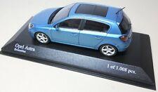 Minichamps 1:43 Scale No 400 043001 Opel Astra 2004 Blue Metallic New Boxed