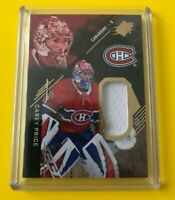 Carey Price - 2017-18 Upper Deck SPX hockey Jersey Montreal Canadiens
