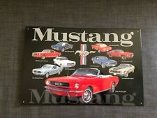 Metal Tin Sign classic mustang car  Decor Bar Pub Home Vintage Retro