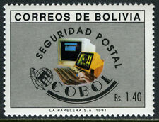 Bolivia 836, MI 1151, MNH. ECOBOL, Postal Security System, 1991
