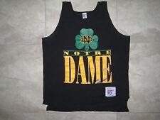 Vintage The GAME NOTRE DAME Fighting Irish Football Beach Tank Top Shirt USED