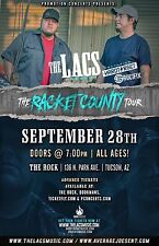 "THE LACS/HARD TARGET ""RACKET COUNTY TOUR"" 2016 TUCSON CONCERT POSTER-Country Rap"