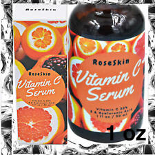 Anti Aging Vitamin C Serum RoseSkin W/ Hyaluronic Acid for face With
