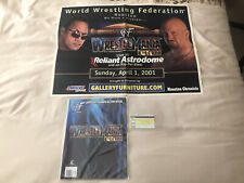 More details for wwe wwf wrestlemania 17 x-seven collectibles bundle - the rock stone cold