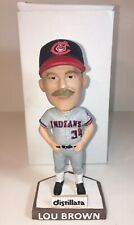 "2017 LOU BROWN AKRON RUBBERDUCKS BOBBLEHEAD SGA 7/8/17 ""BOBBLE MUSTACHE"""