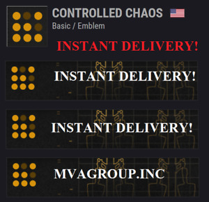 Destiny 2 Controlled Chaos Emblem Code - INSTANT DELIVERY!!!!