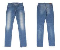Levi's Demi Curve Moderne Taille Moyenne Coupe Skinny Bleu Jean Femme W26 L32