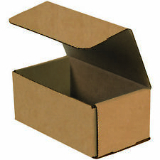 "Box Partners Corrugated Mailers 9"" x 6"" x 3"" Kraft 50/Bundle M963K"