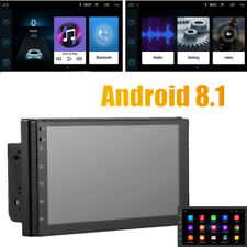 Android 8.1 GPS Navigation Car Stereo Radio Touch Screen 7 Video 2Din Multimedia