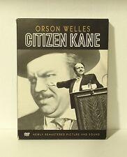 Citizen Kane (DVD, 2001, 2-Disc Set) Orson Welles The Battle For Citizen Kane