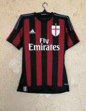 AC Milan 2015 - 2016 home football shirt jersey Adidas size S Small