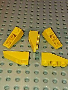 LEGO Inverted Slope 25° 1x3 Bricks (Packs of 5) Choose Colour & amount. ID 4287