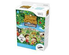 ANIMAL CROSSING LET'S GO TO THE CITY + Wii SPEAK GIOCO ITALIANO NUOVO NINTENDO