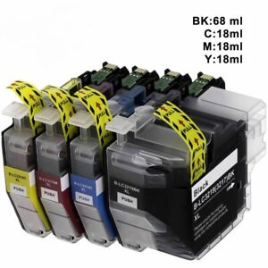 4 x Ink Cartridges fit Brother LC3219 XL, MFC-J5330DW, MFC-J5335DW, MFC-J5730DW