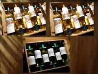 18 weisse französische Bordeaux, 2012 und 2015, Sauvignon Blanc, Entre-Deux-Mers