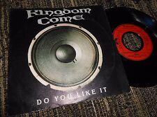 """KINGDOM COME HIGHWAY 6/DO YOU LIKE IT SINGLE 7"""" 1989 GERMANY"""