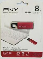 PNY Attache 8GB USB Flash Drive USB 2.0
