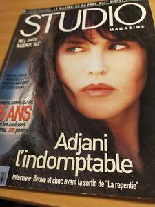 studio magazine - numéro anniversaire 15 ans - n° 176 mars 2002 Isabelle Adjani