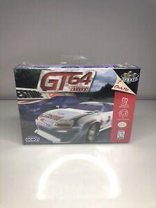 GT 64 Championship Edition (Nintendo 64, 1998) Brand New Sealed MINT *RARE*