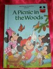 CLASSIC DISNEY'S PICNIC IN WOODS BOOK CLUB NICE CLEAN EUC Other titles available