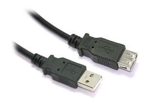 50CM USB 2.0 a Maschio a Una Prolunga Cavo Femmina Spedito Oggi 0.5M Corto 50 CM