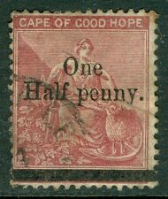 CAPE OF GOOD HOPE : 1882. Stanley Gibbons #47c Used, Hyphen Omitted. Scarce.