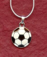 Soccer Ball Necklace This pendant Shows you love Football New