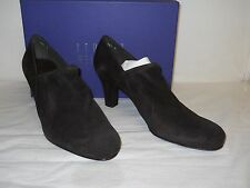 Stuart Weitzman New Womens Homestretch Cola Suede Booties Heels 11 M Shoes NWB